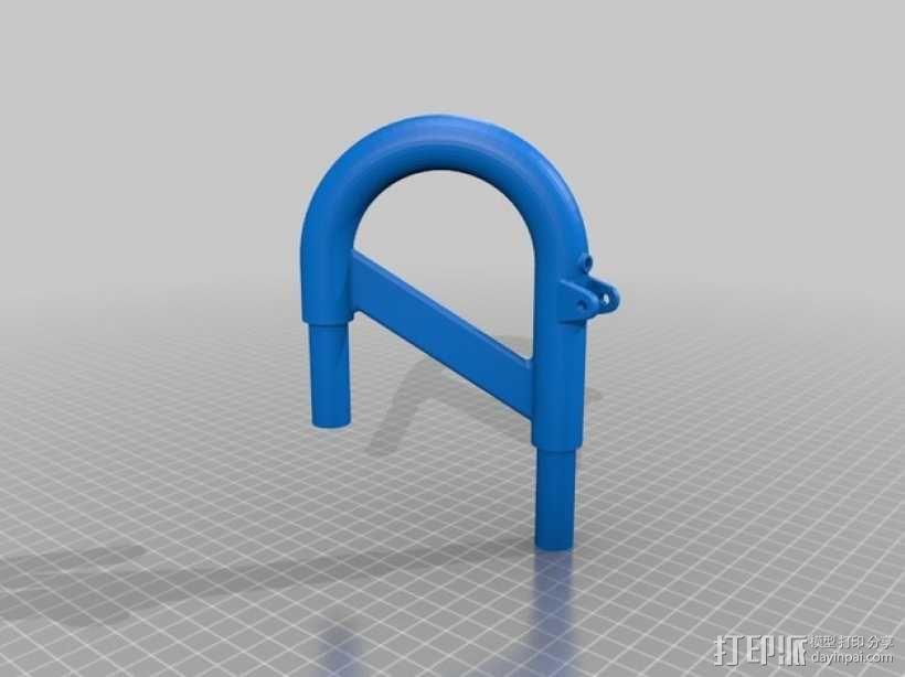 全尺寸喇叭 3D模型  图45