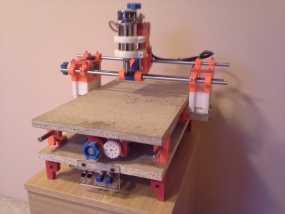 可移动数控机床 3D模型