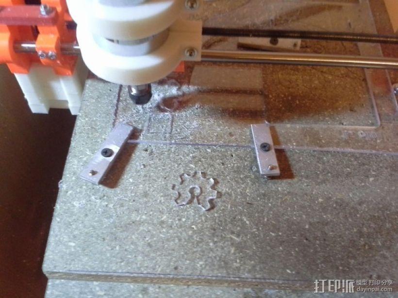 可移动数控机床 3D模型  图2