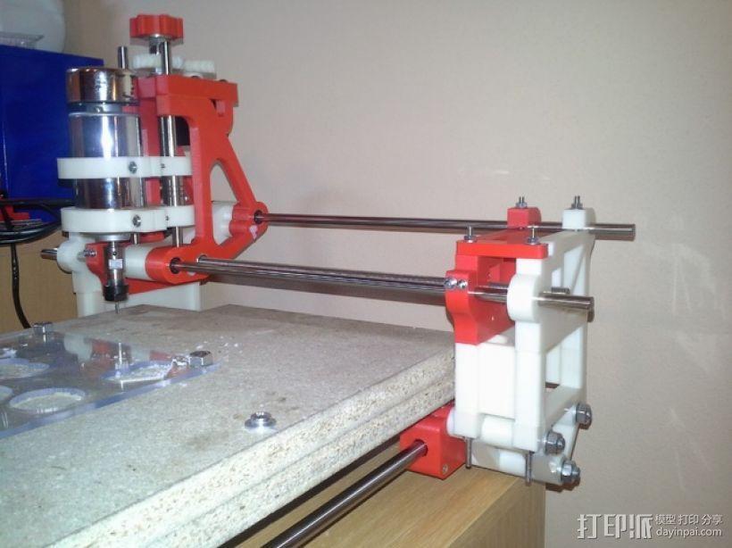 可移动数控机床 3D模型  图5