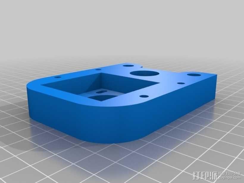 可移动数控机床 3D模型  图11