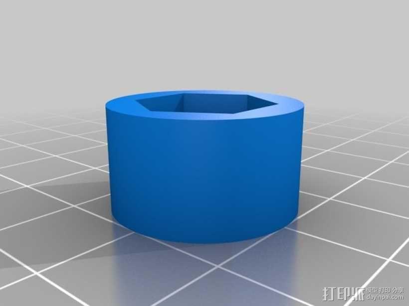 可移动数控机床 3D模型  图13
