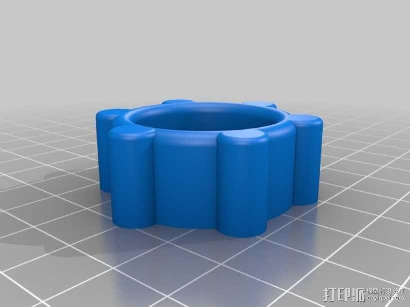 可移动数控机床 3D模型  图20