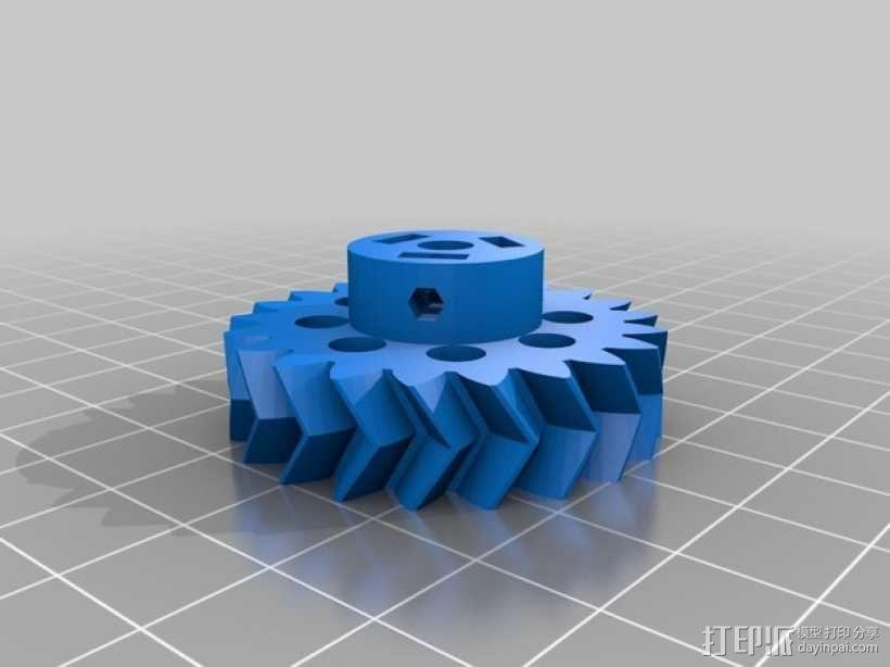 可移动数控机床 3D模型  图21