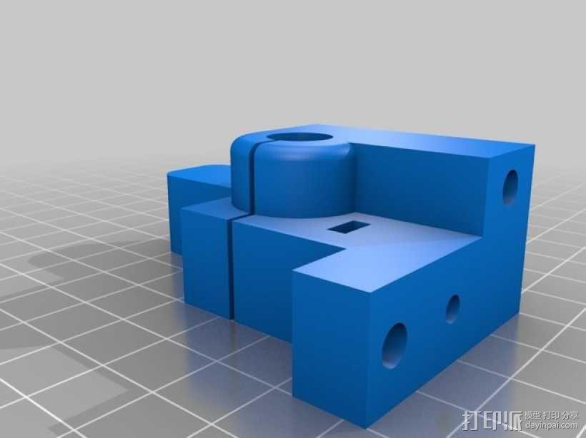 可移动数控机床 3D模型  图23