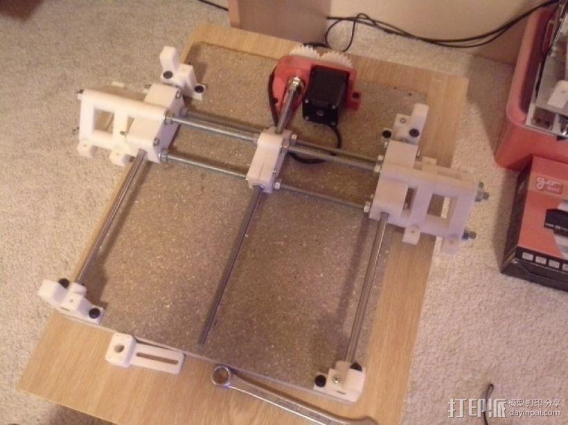 可移动数控机床 3D模型  图46