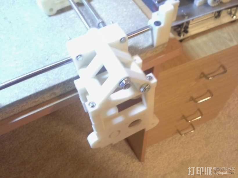 可移动数控机床 3D模型  图44