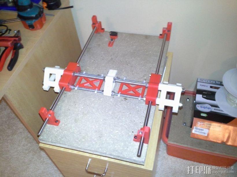 可移动数控机床 3D模型  图51