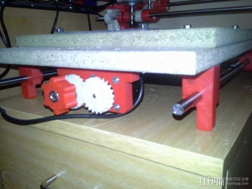可移动数控机床 3D模型  图52