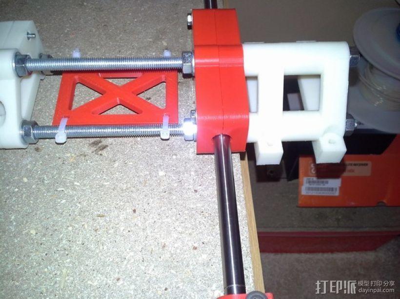 可移动数控机床 3D模型  图53