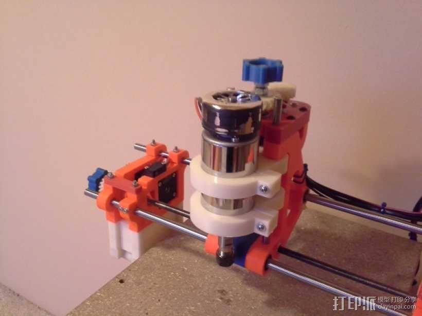 可移动数控机床 3D模型  图56