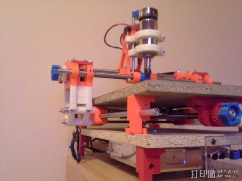 可移动数控机床 3D模型  图55