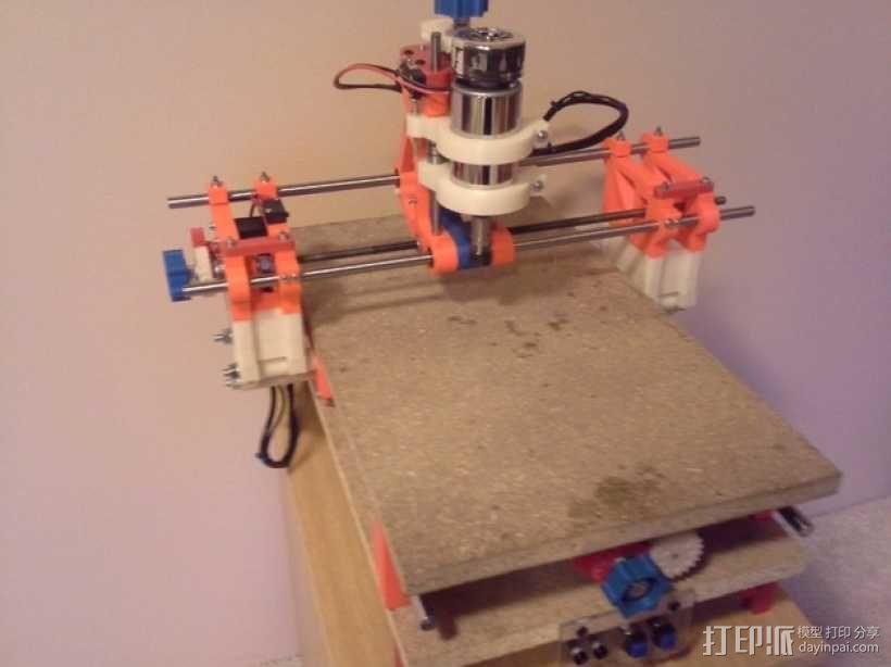 可移动数控机床 3D模型  图58