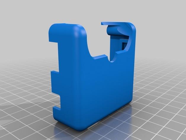 DJI Phantom 2的MotorPixie 2轴杆 3D模型  图4