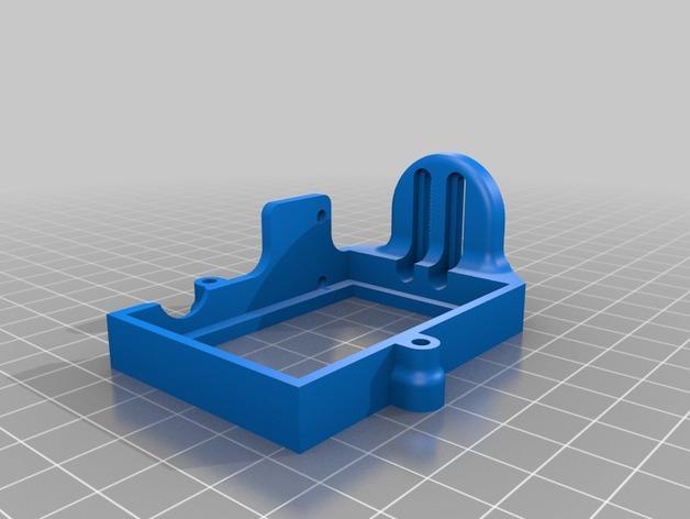 DJI Phantom 2的MotorPixie 2轴杆 3D模型  图6