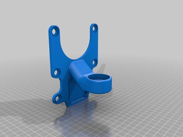 DJI Phantom 2的MotorPixie 2轴杆 3D模型  图8