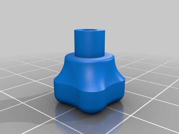 DJI Phantom 2的MotorPixie 2轴杆 3D模型  图9