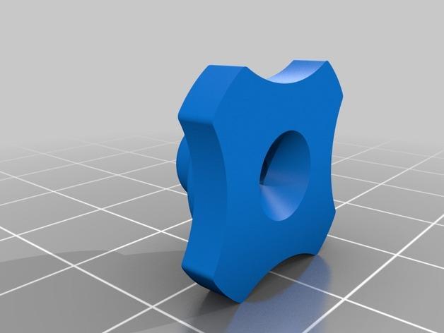 DJI Phantom 2的MotorPixie 2轴杆 3D模型  图11