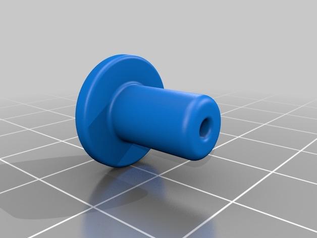DJI Phantom 2的MotorPixie 2轴杆 3D模型  图12