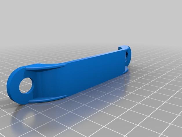 DJI Phantom 2的MotorPixie 2轴杆 3D模型  图13