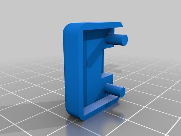 DJI Phantom 2的MotorPixie 2轴杆 3D模型  图15