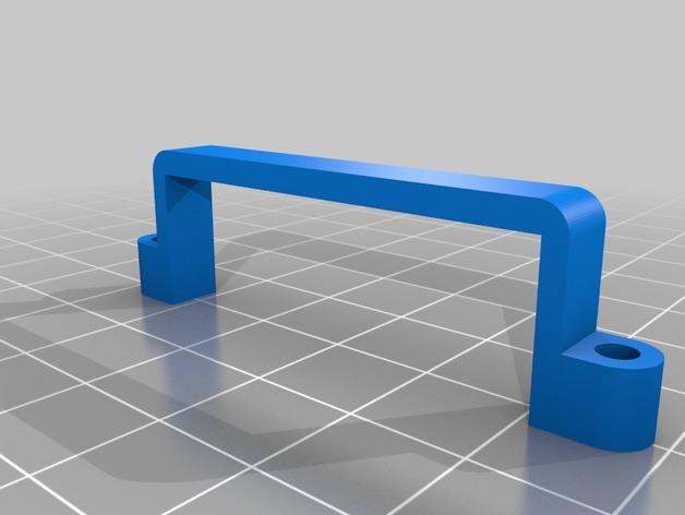 DJI Phantom 2的MotorPixie 2轴杆 3D模型  图14