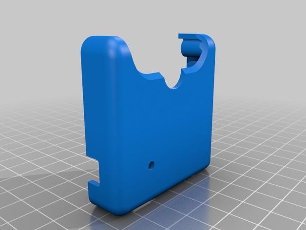 DJI Phantom 2的MotorPixie 2轴杆 3D模型  图16