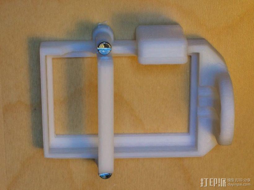 DJI Phantom 2的MotorPixie 2轴杆 3D模型  图18