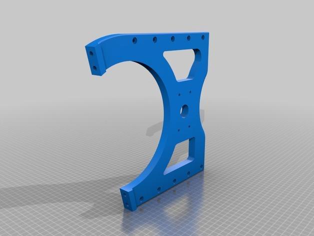 TimROV-一个开源远程追踪操作控制四轮车 3D模型  图9
