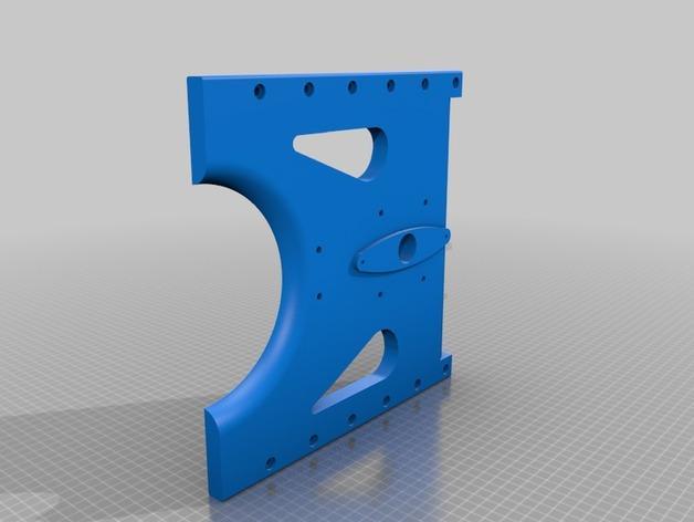 TimROV-一个开源远程追踪操作控制四轮车 3D模型  图10