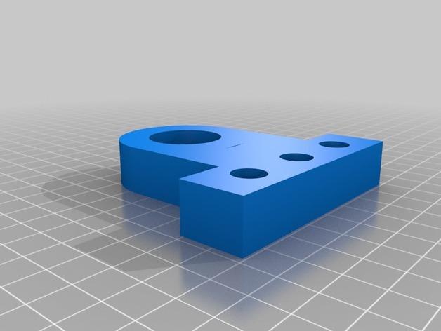 TimROV-一个开源远程追踪操作控制四轮车 3D模型  图11