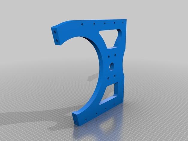 TimROV-一个开源远程追踪操作控制四轮车 3D模型  图13