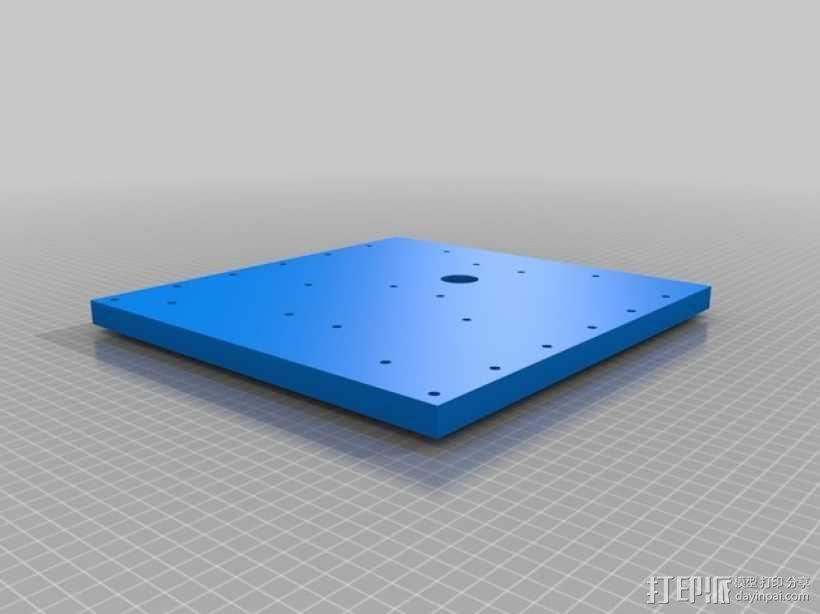 TimROV-一个开源远程追踪操作控制四轮车 3D模型  图21