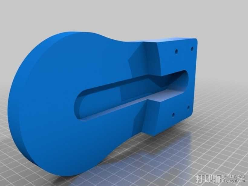 TimROV-一个开源远程追踪操作控制四轮车 3D模型  图20