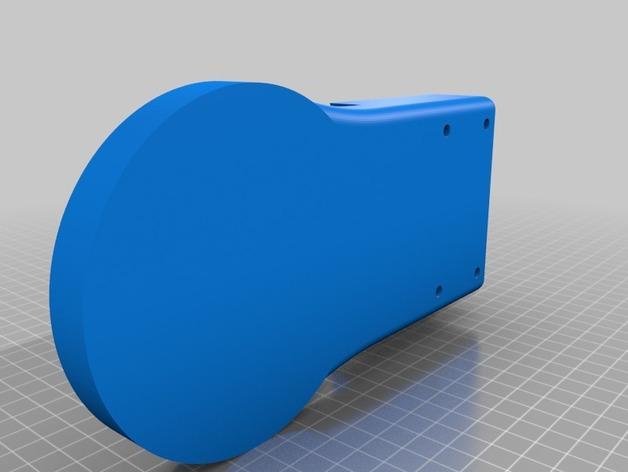 TimROV-一个开源远程追踪操作控制四轮车 3D模型  图23
