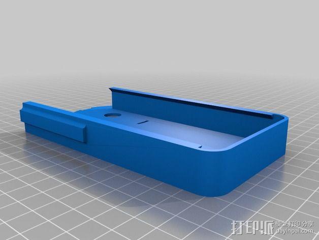 iPhone 4s望远镜适配器 3D模型  图3
