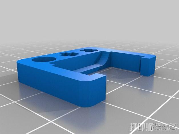 乐高littlebits适配器 3D模型  图2