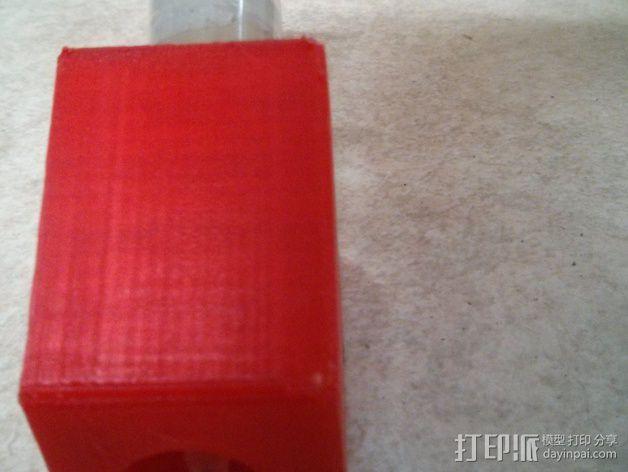 免清洗焊膏注射器套 3D模型  图3