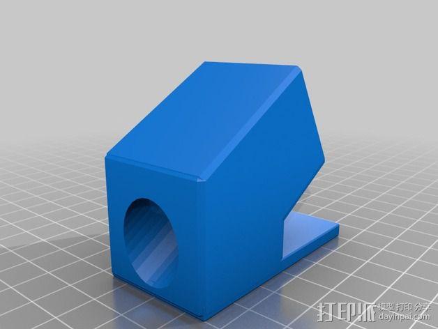 免清洗焊膏注射器套 3D模型  图2