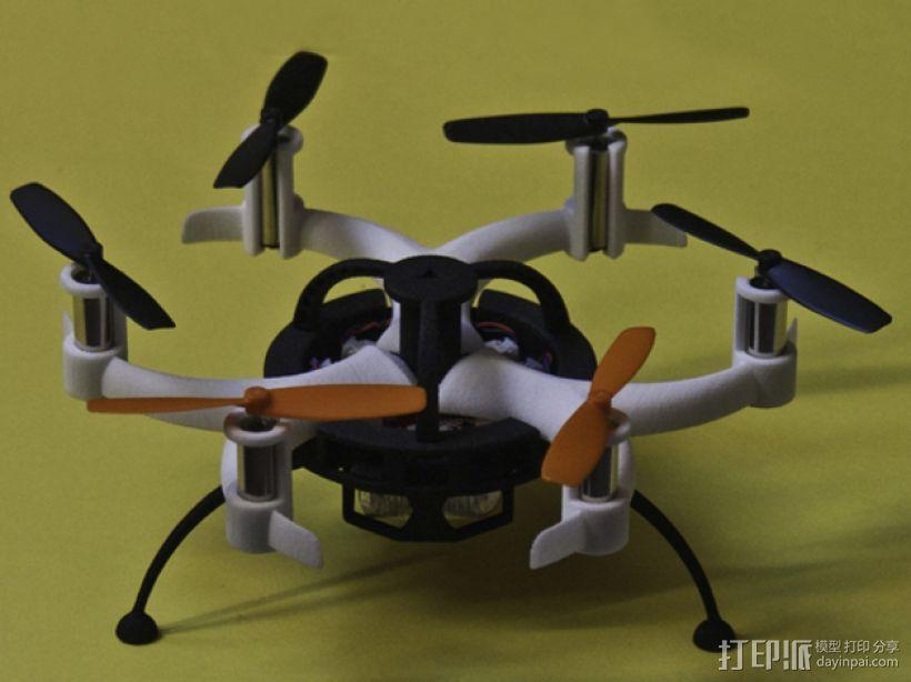 迷你6轴飞行器主架 3D模型  图1