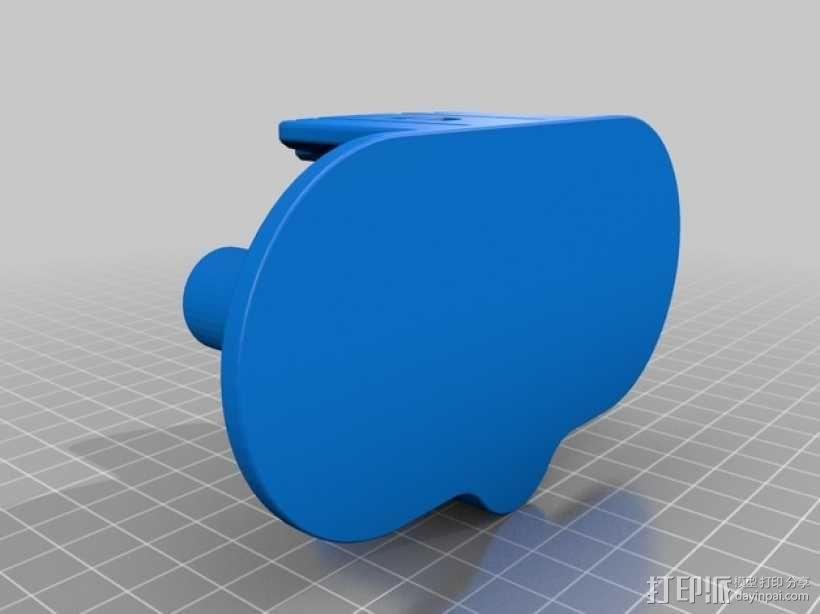 双头焊丝卷 3D模型  图2