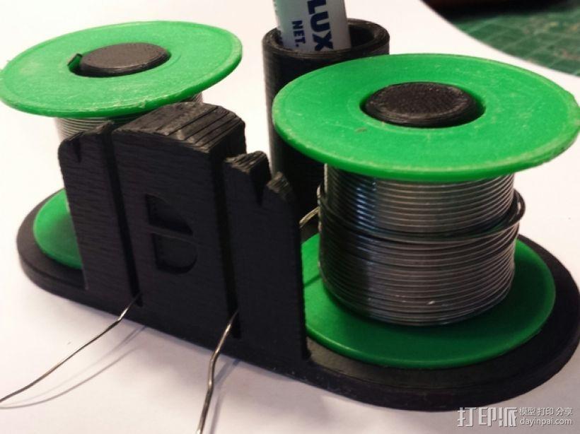 双头焊丝卷 3D模型  图1