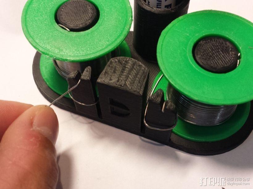 双头焊丝卷 3D模型  图4