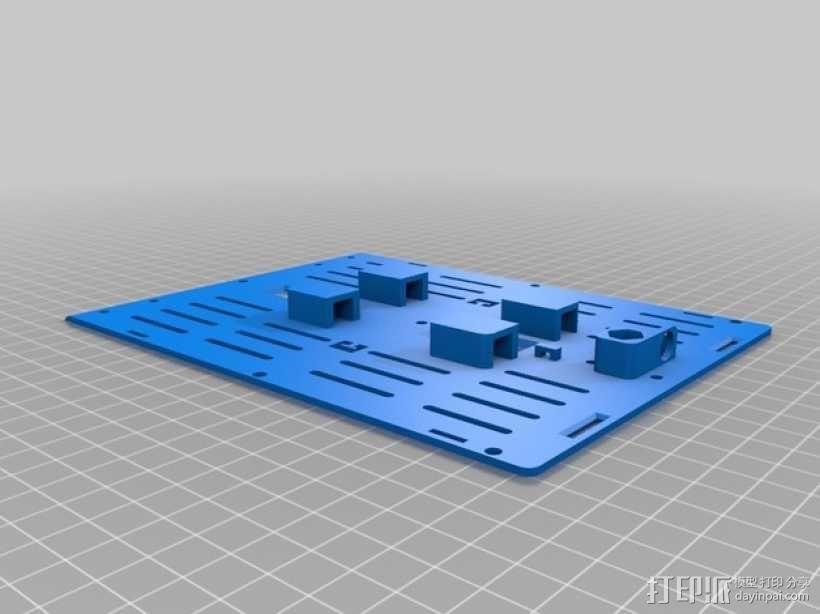 T6 / Y6 四轴飞行器 3D模型  图15