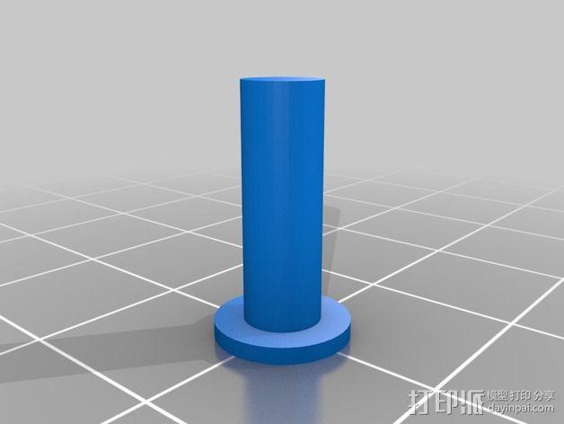 彩色小刀 3D模型  图4