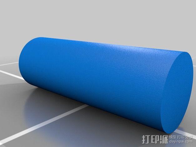 雪茄盒尤克里里 3D模型  图2