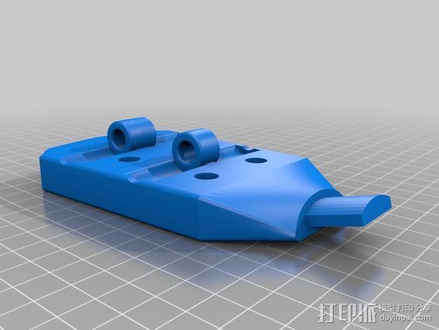 雪茄盒尤克里里 3D模型  图3