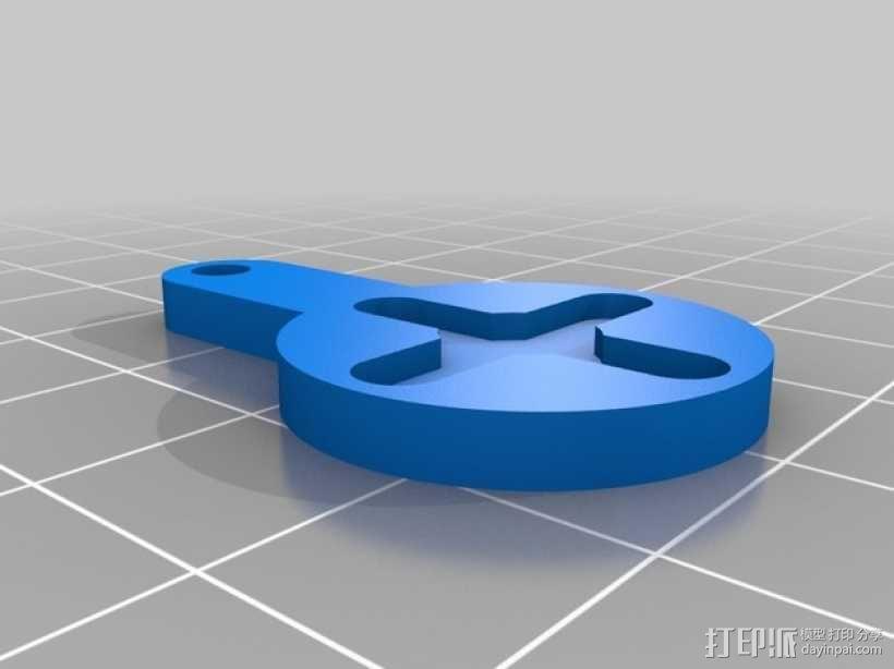 伺服套 3D模型  图2