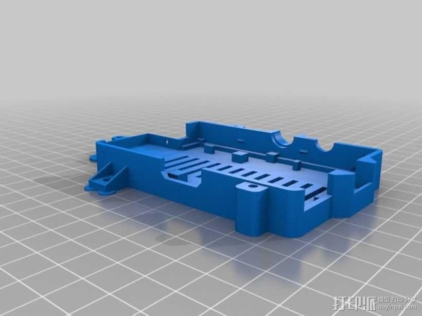 更加安全的树莓派壳 3D模型  图2