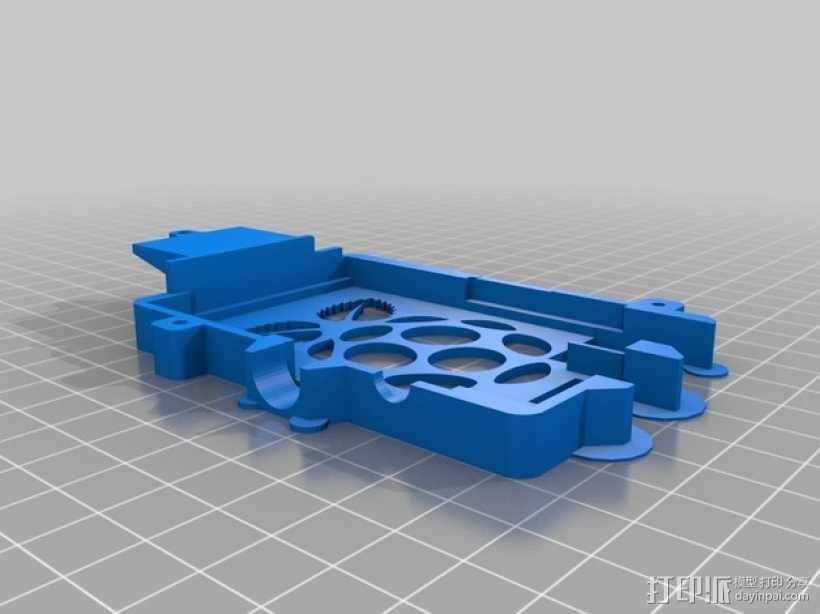 更加安全的树莓派壳 3D模型  图3